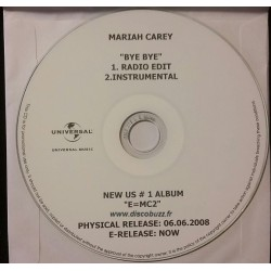 Mariah Carey ‎- Bye Bye - CDr Single Promo