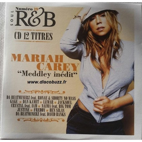 Mariah Carey ‎- Meddley Inedit - CD Promo Cardsleeve