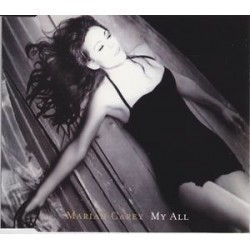 Mariah Carey ‎- My All - CD Maxi Single Promo