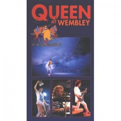 Queen ‎– At Wembley VHS Vidéo