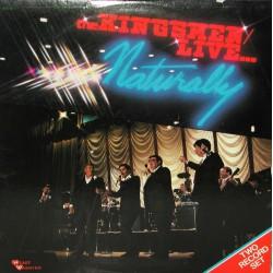 The Kingsmen - Live Naturally - Double LP Vinyl
