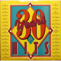 Compilation Country - 30 Years Of Hits (1958-1988) - Double LP Vinyl
