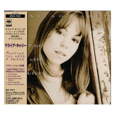 Mariah Carey ‎- Anytime You Need A Friend - CD Maxi Single
