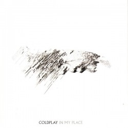 Coldplay ‎- In My Place - CD Single Promo