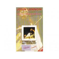 John Lennon - Toronto Peace Festival 1969 - Vidéo VHS