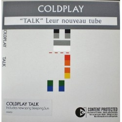 Coldplay ‎- Talk - CD Single