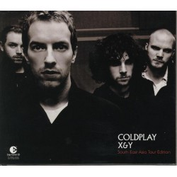 Coldplay ‎– X&Y (South East Asia Tour Edition) - CD Album + DVD