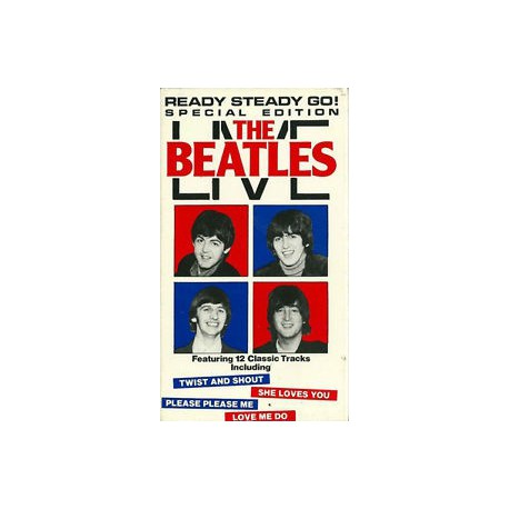 The Beatles Live Ready Steady Go 1964 VHS