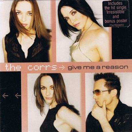 The Corrs - Give Me A Reason - CD Single + Poster