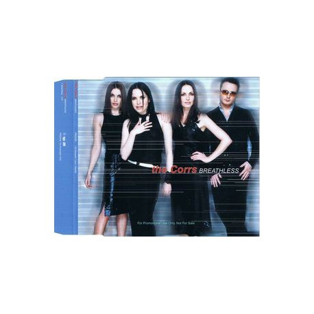 The Corrs - Breathless - CD Maxi Single Promo