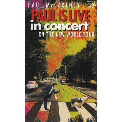 Paul Mc Cartney - Paul Is Live in Concert - VHS Video
