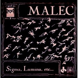 Malec - Sigma, Lumina, Etc... - Double LP Vinyl