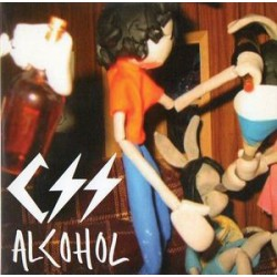 CSS ‎- Alcohol - CD Single Promo