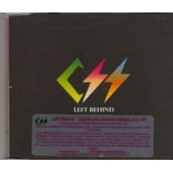 CSS ‎- Left Behind - CD Maxi Single Promo