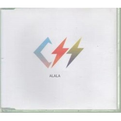 CSS - Alala - CD Maxi Single Promo