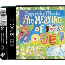 Depeche Mode ‎- The Meaning Of Love - CD Maxi Single