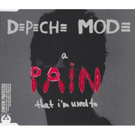 Depeche Mode - A Pain That I'm Used To - CD Maxi Single