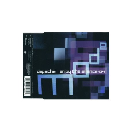 Depeche Mode - Enjoy The Silence·04 - CD Maxi Single