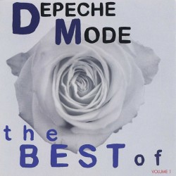 Depeche Mode ‎- The Best Of (Volume 1) - CD Album Promo