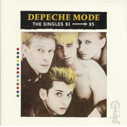 Depeche Mode ‎- The Singles 81--85 - CD Album