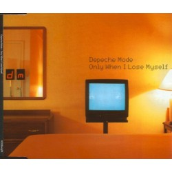 Depeche Mode - Only When I Lose Myself - CD Maxi Single Promo