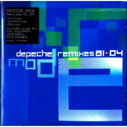 Depeche Mode ‎- Remixes 81·04 - CD Album