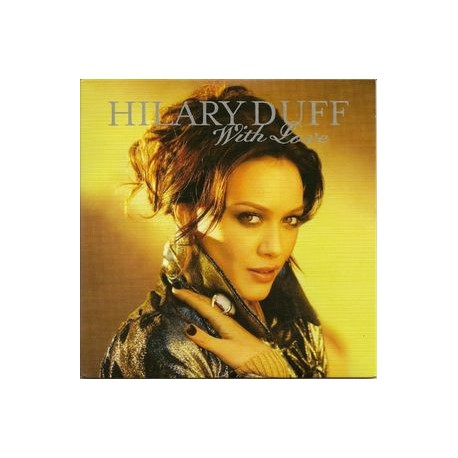 Hilary Duff - With Love - CD Single Promo