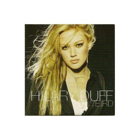 Hilary Duff - Weird - CD Single Promo