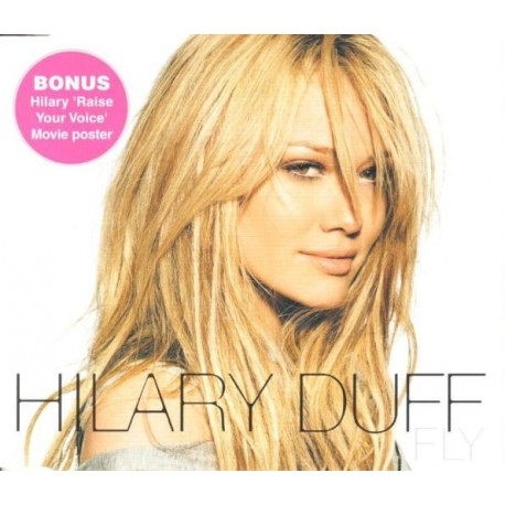 Hilary Duff -  Fly - CD Maxi Single + Poster