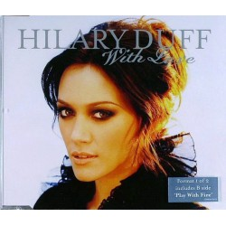 Hilary Duff - With Love - CD Maxi Single
