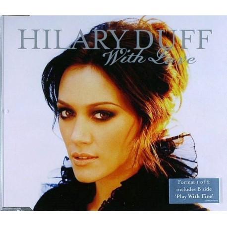 Hilary Duff - With Love - CD Maxi Single
