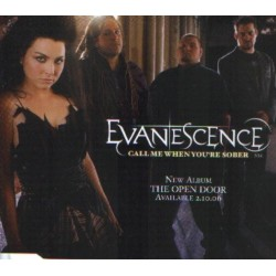 Evanescence - Call Me When You're Sober - CD Maxi Single Promo