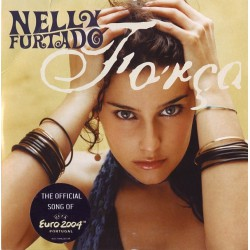 Nelly Furtado ‎- Força - CD Single