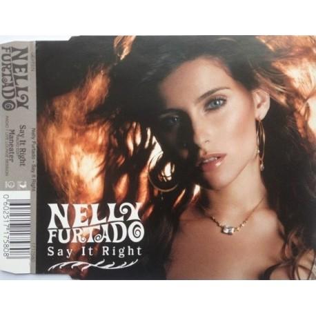 Nelly Furtado - Say It Right - CD Maxi Single