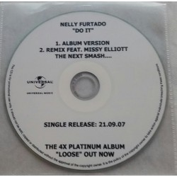 Nelly Furtado - Do It - CDr Single Promo