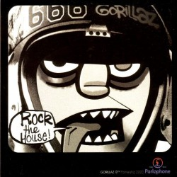 Gorillaz ‎- Rock The House - CD Single Promo