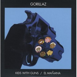 Gorillaz ‎- Kids With Guns / El Mañana - CD Single Promo