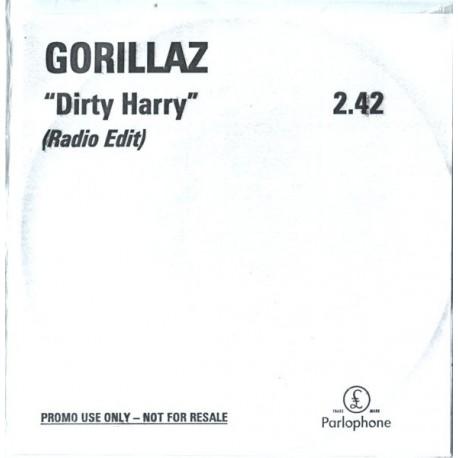 Gorillaz - Dirty Harry - CDr Single Promo