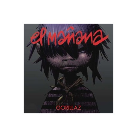 Gorillaz - El Mañana / Kids With Guns - CD Maxi Single