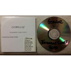 Gorillaz - Tomorrow Comes Today - CDr Single Promo