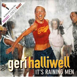 Geri Halliwell ‎- It's Raining Men - CD Single