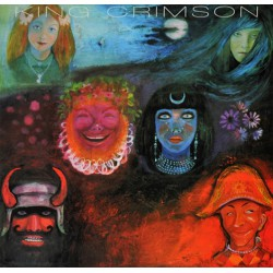 King Crimson ‎– In The Wake Of Poseidon - Red Vinyl