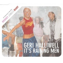 Geri Halliwell ‎- It's Raining Men - CD Maxi Single Promo