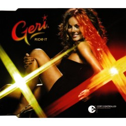 Geri Halliwell - Ride It - CD Single Promo