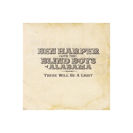 Ben Harper & Blind Boys Of Alabama ‎- There Will Be A Light - CD Album Promo Cardsleeve