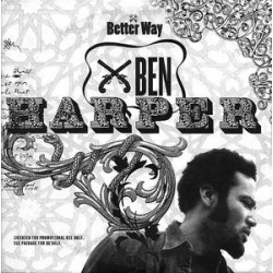 Ben Harper ‎- Better Way - CD Single Promo