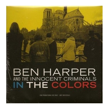 Ben Harper And Innocent Criminals - In The Colors - CD Single Promo