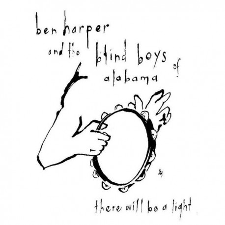 Ben Harper & Blind Boys Of Alabama - There Will Be A Light - CD Album Promo Cardsleeve