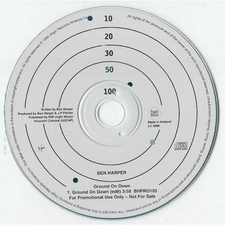 Ben Harper - Ground On Down - CD Single Promo