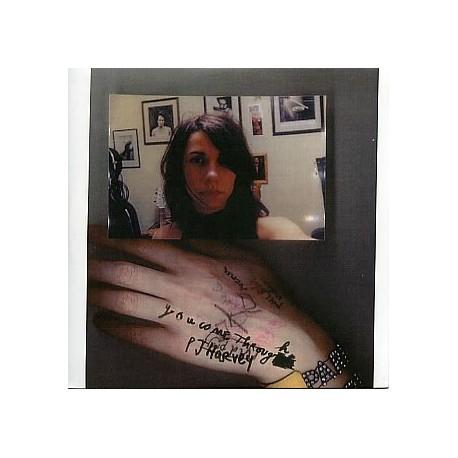 PJ Harvey - You Come Through - CD Single Promo